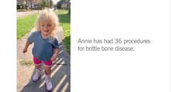 Annie donor campaign 2020