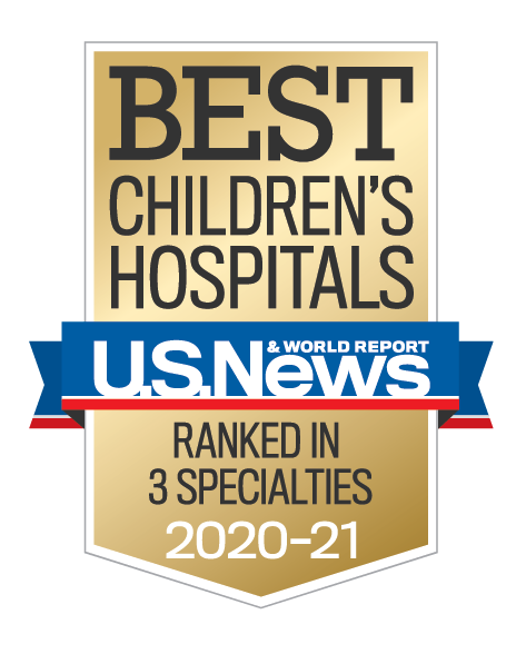 U.S. News Best Children's Hospitals 2019-2020